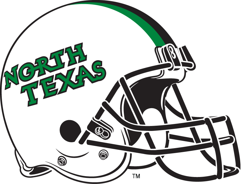 North Texas Mean Green 2005-Pres Helmet Logo v2 iron on transfers for clothing