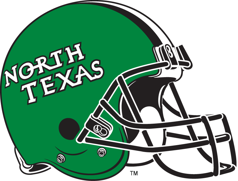 North Texas Mean Green 2005-Pres Helmet Logo iron on transfers for clothing
