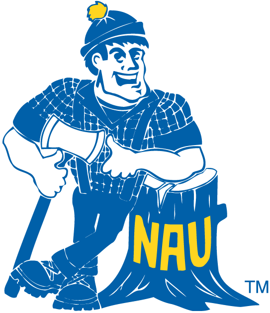 Northern Arizona Lumberjacks iron ons