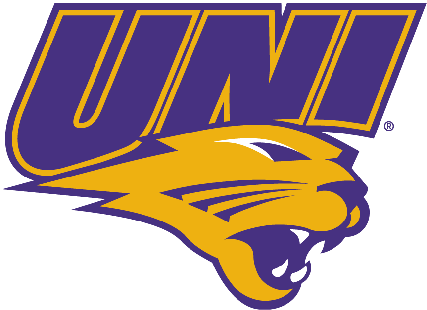 Northern Iowa Panthers iron ons