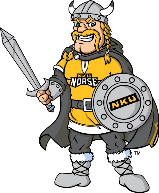 Northern Kentucky Norse 2005-Pres Mascot Logo iron on transfers for clothing