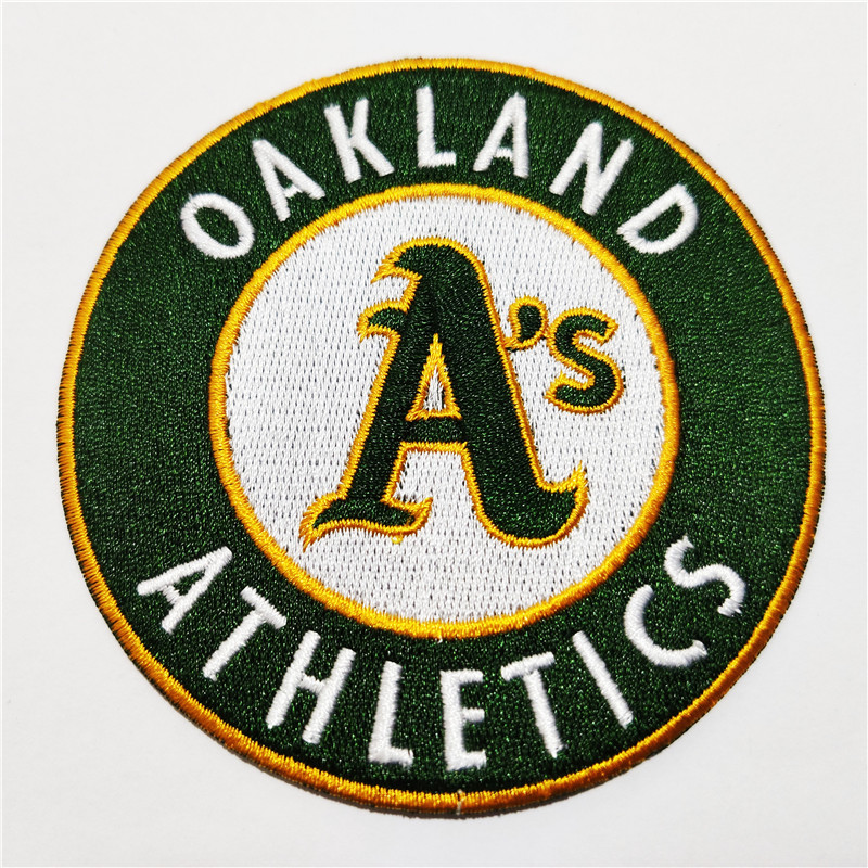 Oakland Athletics Logo Iron-on Patch Velcro Patch 3.5 inches