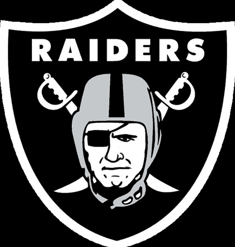 Oakland Raiders Manning Face Logo iron on transfers