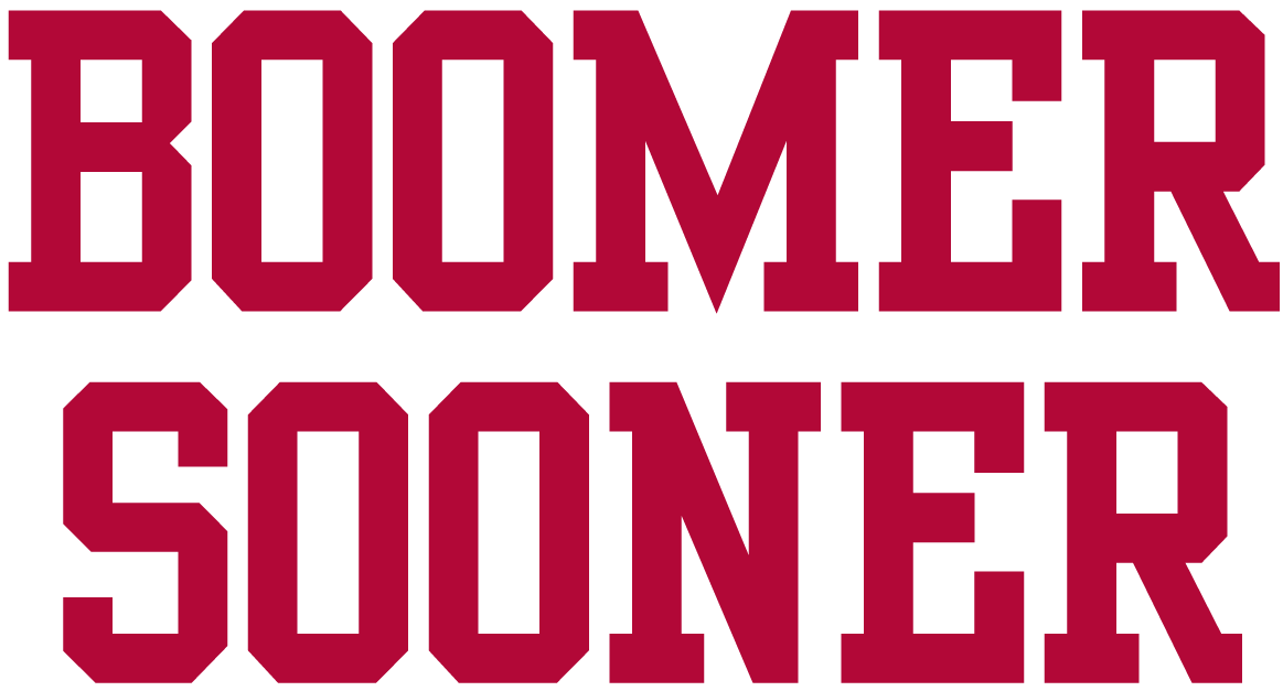 Oklahoma Sooners 0-Pres Wordmark Logo iron on transfers for clothing