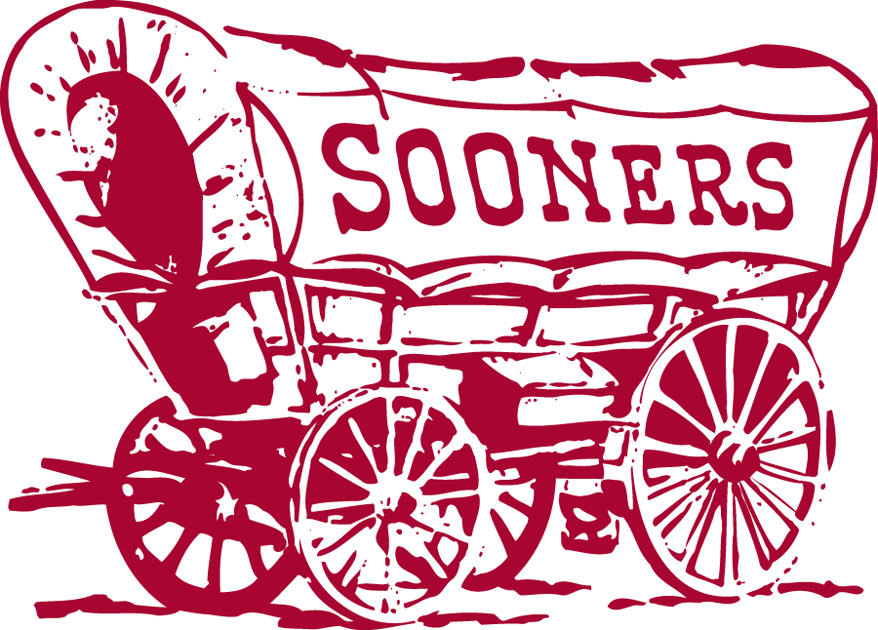 Oklahoma Sooners 1952-1966 Primary Logo iron on transfers for clothing