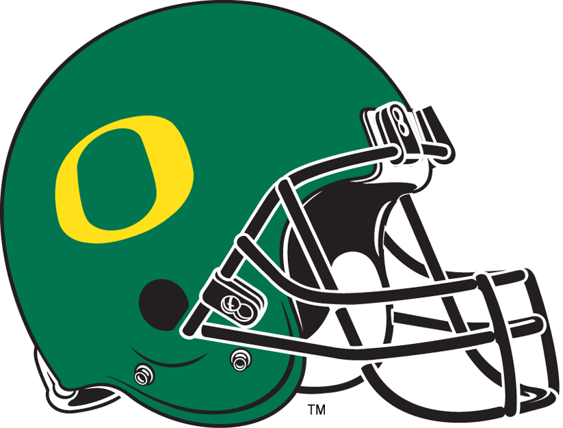 Oregon Ducks 1999-Pres Helmet Logo iron on transfers for clothing