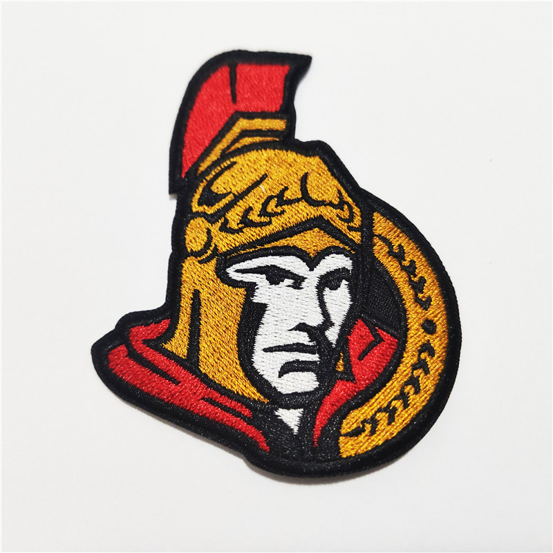 Ottawa Senators Logo Iron-on Patch Velcro Patch 3.5 inches