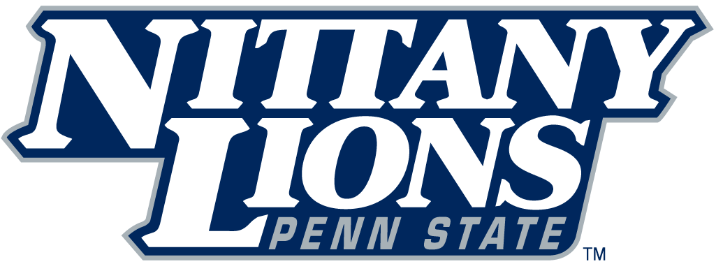 Penn State Nittany Lions 2001-2004 Wordmark Logo v3 iron on transfers for clothing