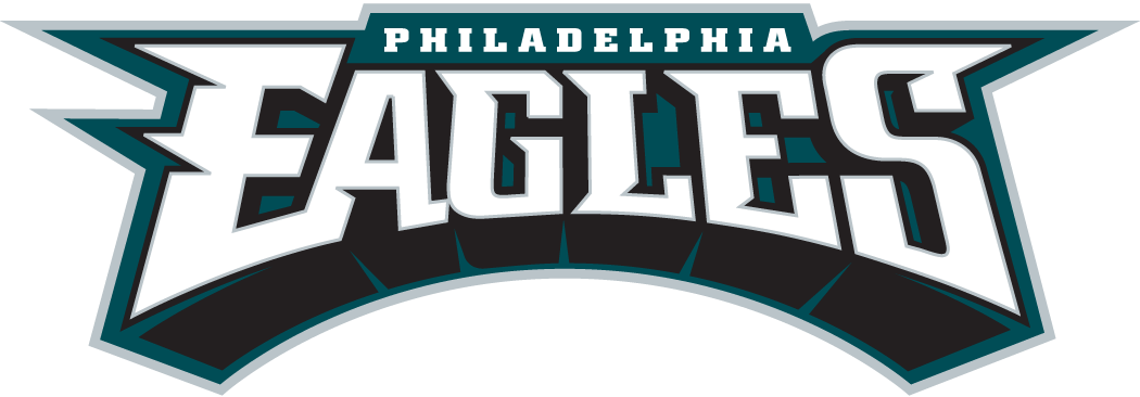 Philadelphia Eagles 1996-Pres Wordmark Logo iron on tranfers for clothing