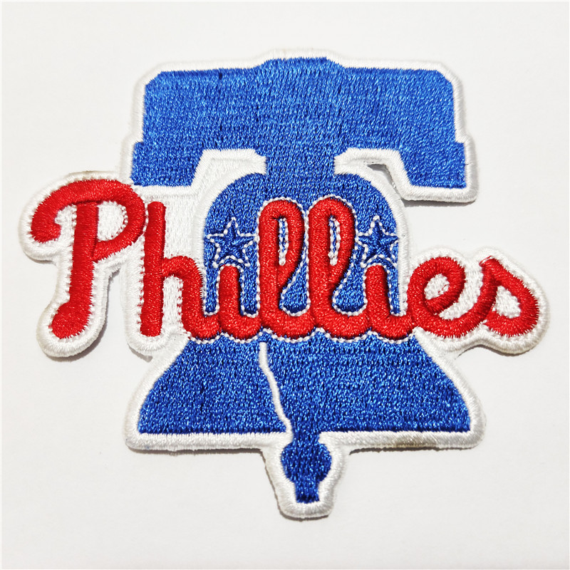 Philadelphia Phillies Logo Iron-on Patch Velcro Patch 3.5 inches