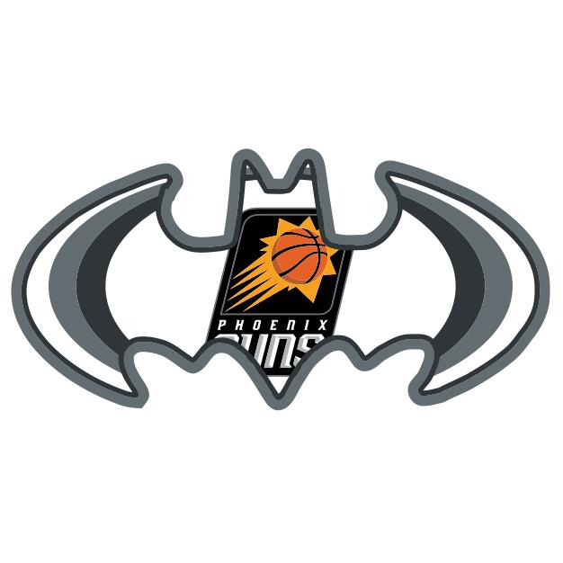 Phoenix Suns Batman Logo iron on transfers