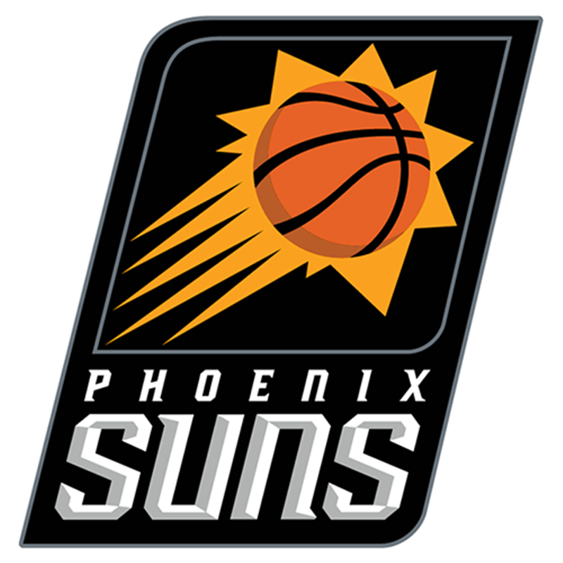 Phoenix Suns Logo Iron-on Patch Velcro Patch 3.5 inches.png