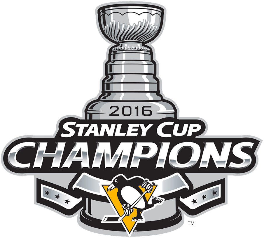 Pittsburgh Penguins 2016 Champion Logo iron on transfers for clothing