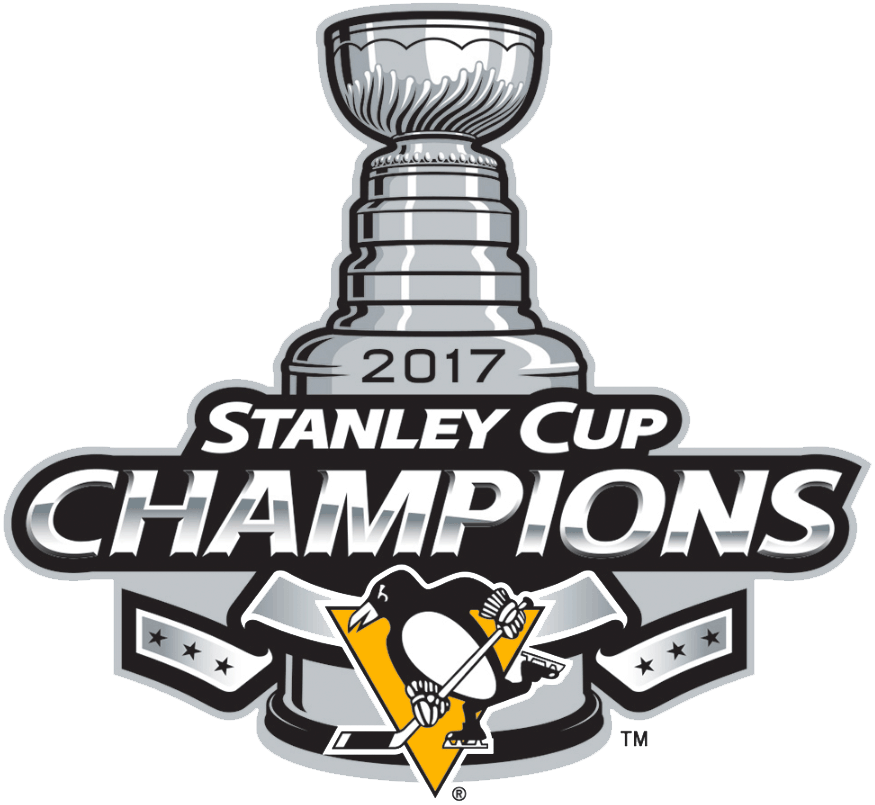 Pittsburgh Penguins 2017 Champion Logo iron on transfers for clothing