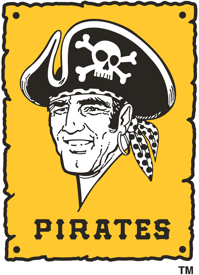 Pittsburgh Pirates 1967-1986 Primary Logo iron on transfers for clothing...