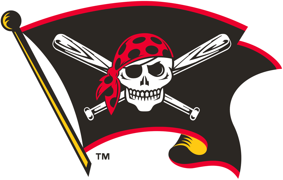 Pittsburgh Pirates 1997-2010 Alternate Logo iron on transfers for clothing