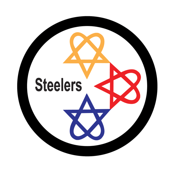 Pittsburgh Steelers Heavy Metal Logo iron on transfers