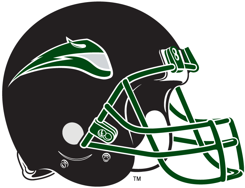 Portland State Vikings 1999-Pres Helmet Logo v2 iron on transfers for clothing