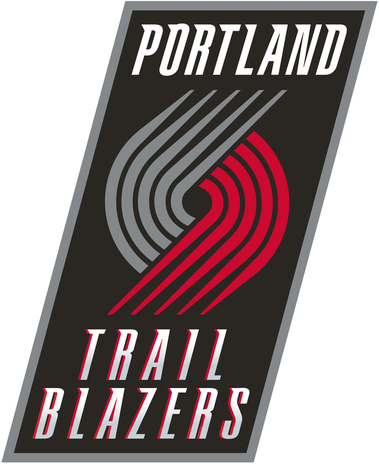 Portland Trail Blazers 2004-2017 Primary Logo iron on transfers for clothing