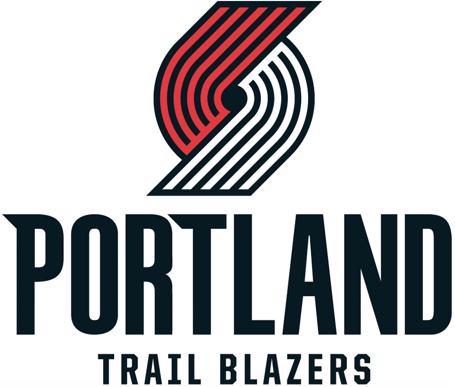 Portland Trail Blazers 2017-Pres Primary Logo iron on transfers for clothing