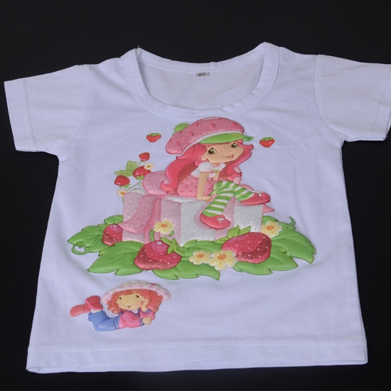 Puff Effect Iron-on Transfer Sticker For Children's Clothes
