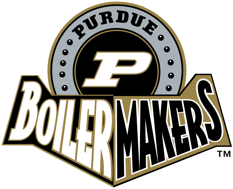 Purdue Boilermakers 1996-2011 Alternate Logo v3 iron on transfers for clothing