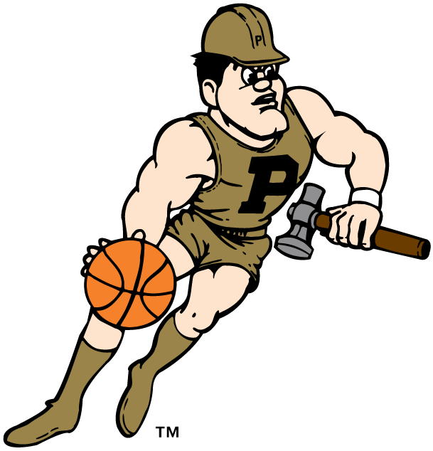 Purdue Boilermakers 1996-Pres Mascot Logo iron on transfers for clothing
