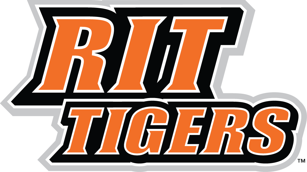 RIT Tigers 2004-Pres Wordmark Logo iron on transfers for clothing