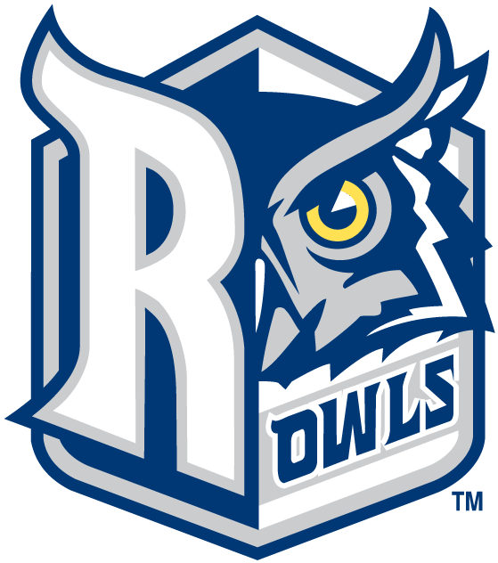 Rice Owls 2003-2009 Alternate Logo v2 iron on transfers for clothing