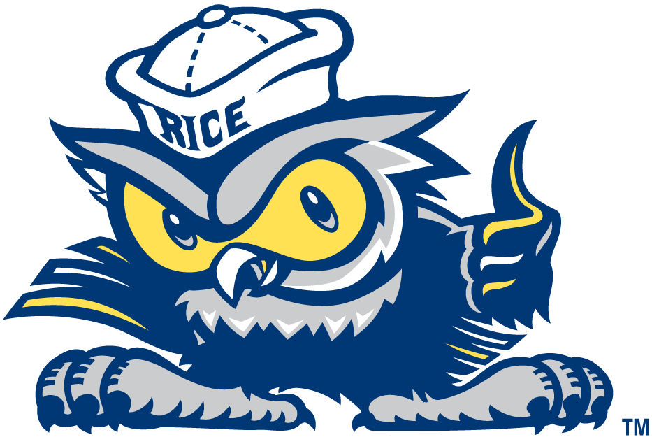 Rice Owls 2003-2009 Misc Logo iron on transfers for clothing