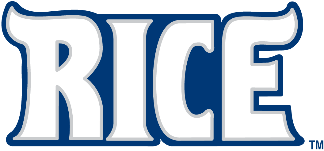Rice Owls 2003-2009 Wordmark Logo iron on transfers for clothing