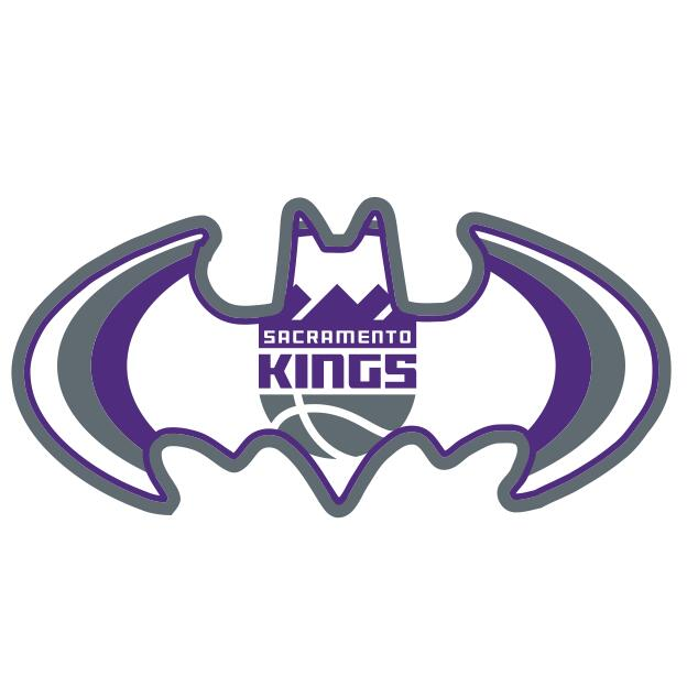 Sacramento Kings Batman Logo iron on transfers