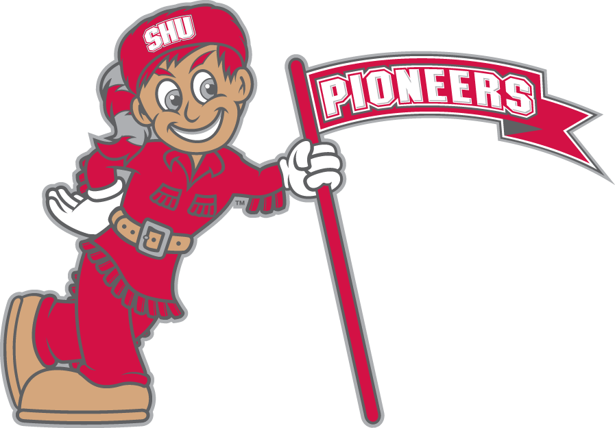 Sacred Heart Pioneers 2004-Pres Misc Logo v2 iron on transfers for clothing