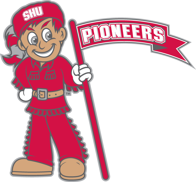 Sacred Heart Pioneers 2004-Pres Misc Logo v4 iron on transfers for clothing