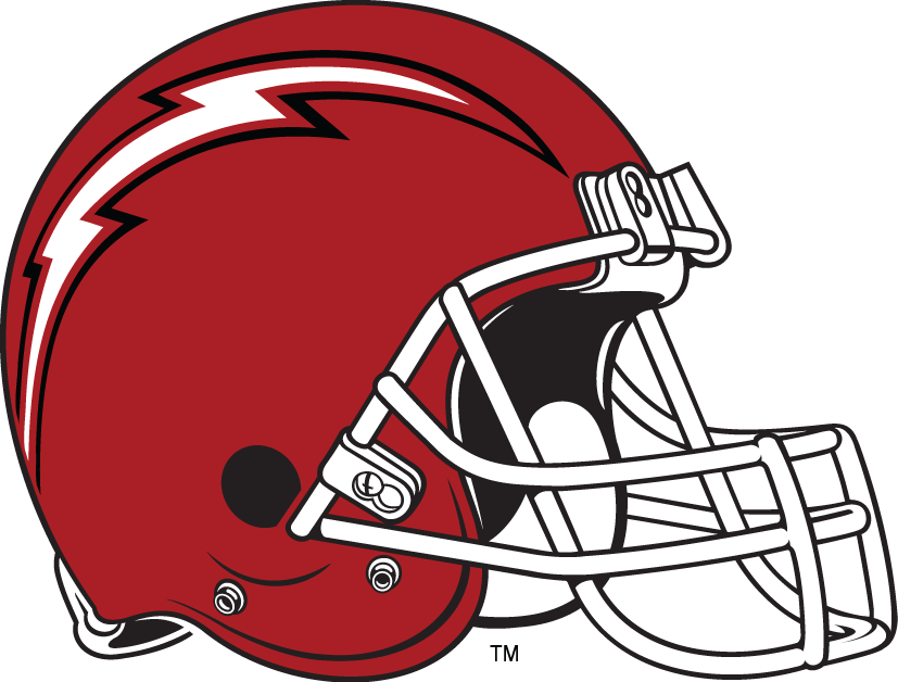 Saint Francis Red Flash 2001-2011 Helmet Logo iron on transfers for clothing