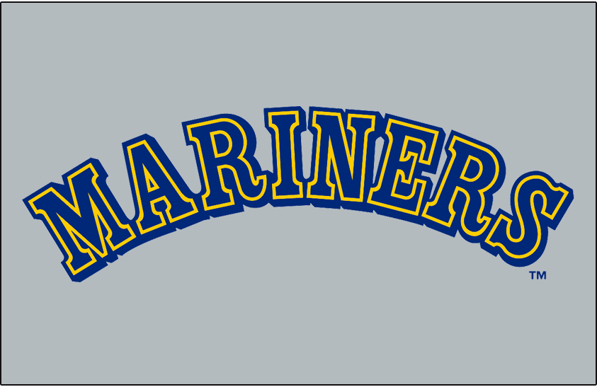 Seattle Mariners 1987-1992 Jersey Logo iron on transfers for clothing