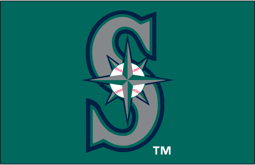 Seattle Mariners 1994-1996 Cap Logo iron on transfers for clothing