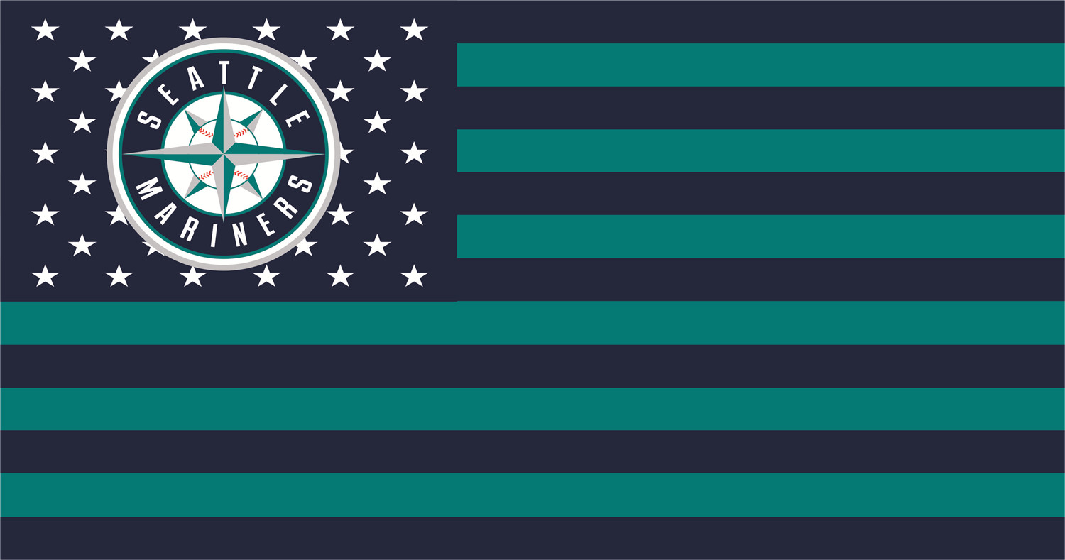 Seattle Mariners Flags iron on transfers