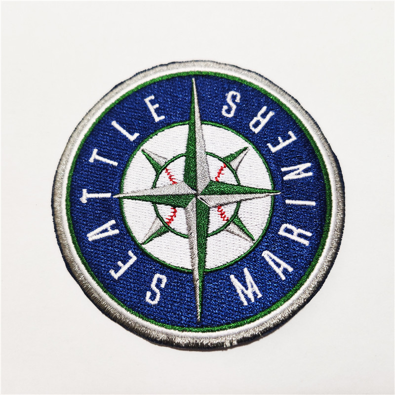 Seattle Mariners Logo Iron-on Patch Velcro Patch 3.5 inches