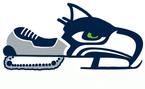 Seattle Seahawks Canadian Logos iron on transfers