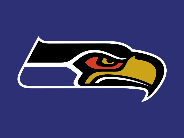 Seattle to Baltimore colors logo iron on transfers