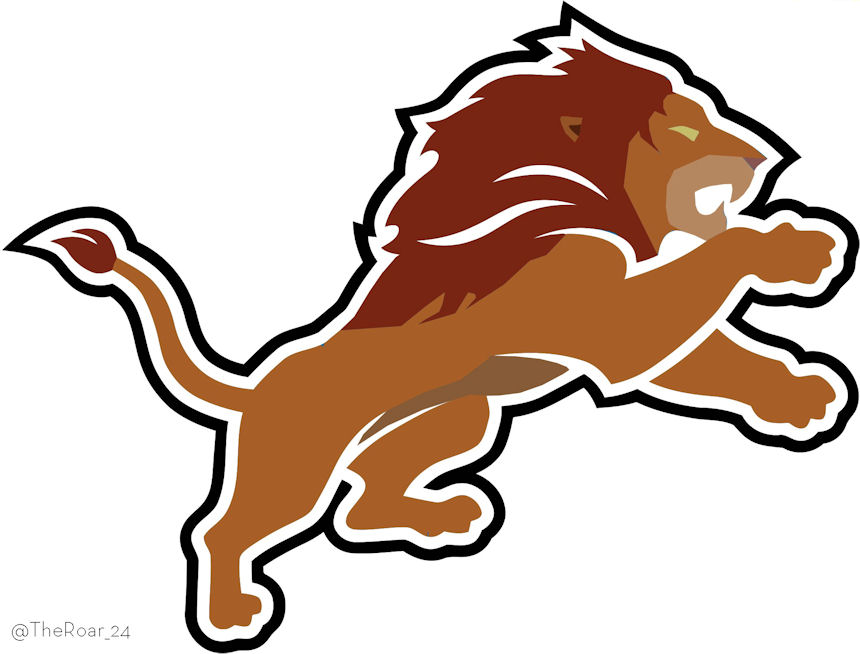 Simba Detroit Lions Logo iron on transfers
