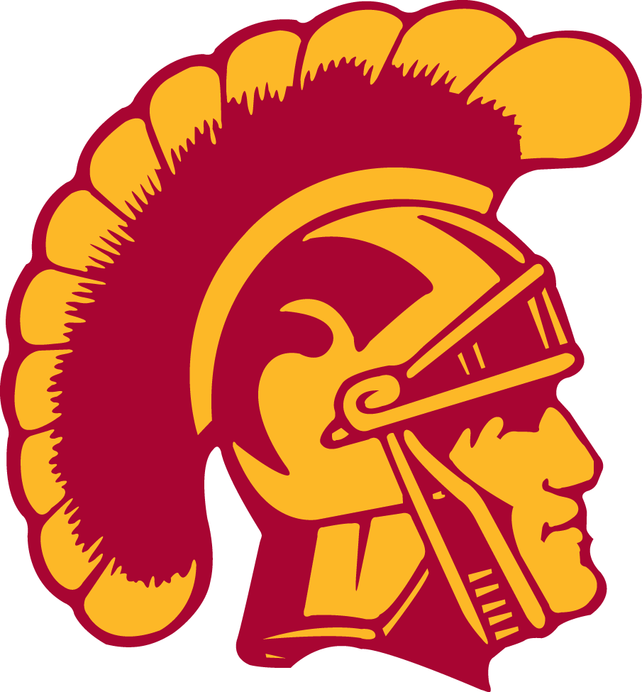 Southern California Trojans iron ons
