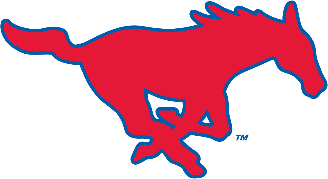 Southern Methodist Mustangs 1978-2007 Alternate Logo v2 iron on transfers for clothing