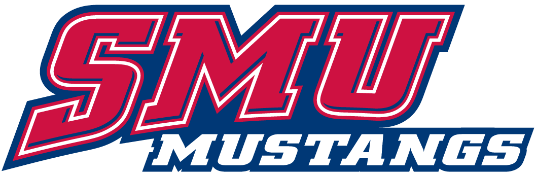 Southern Methodist Mustangs 1995-Pres Wordmark Logo v2 iron on transfers for clothing