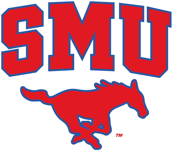 Southern Methodist Mustangs 2008-Pres Alternate Logo iron on transfers for clothing