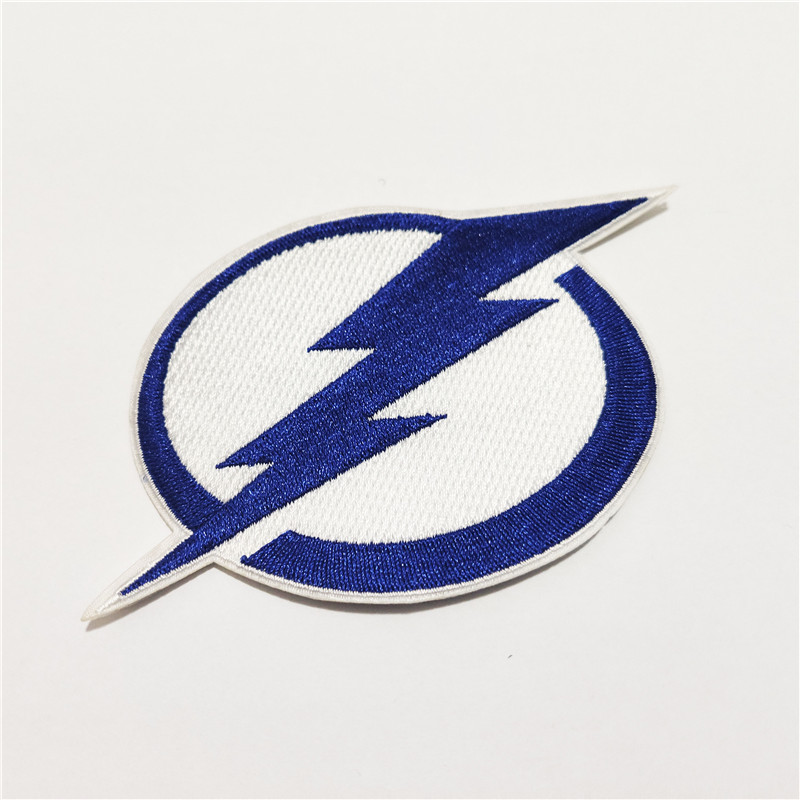 Tampa Bay Lightning Logo Iron-on Patch Velcro Patch 4 inches