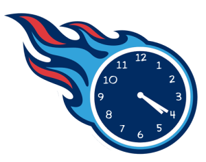 Tennessee Titans Smoking Weed Logo iron on transfers