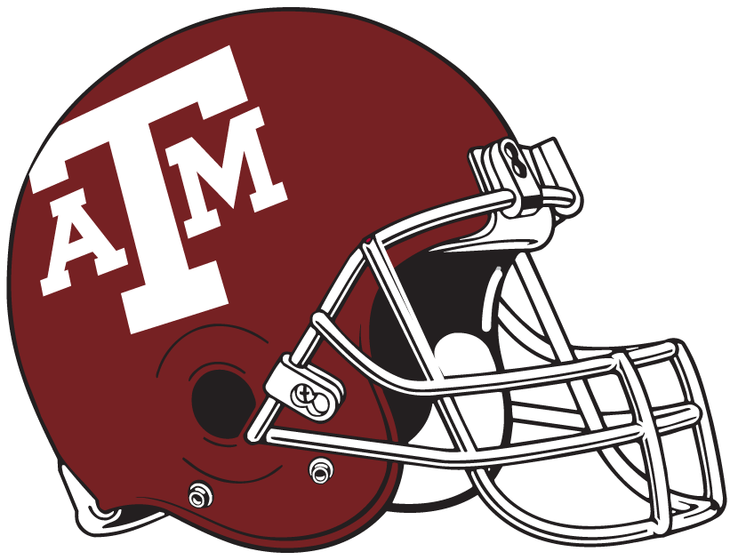 Texas A&M Aggies 1978-Pres Helmet Logo iron on transfers for clothing