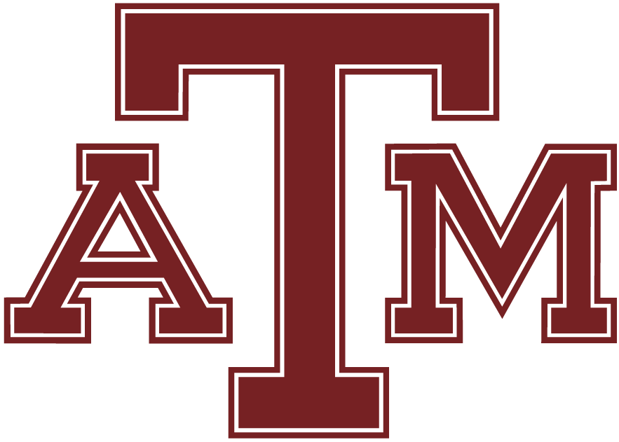 Texas A&M Aggies 1981-2000 Primary Logo iron on transfers for clothing